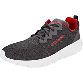 Columbia Backpedal Zapatillas Hombre, shark/mountain red